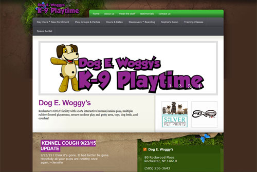 Dog E. Woggy's K-9 Playtime